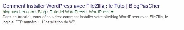 Résultat de recherche wordpress