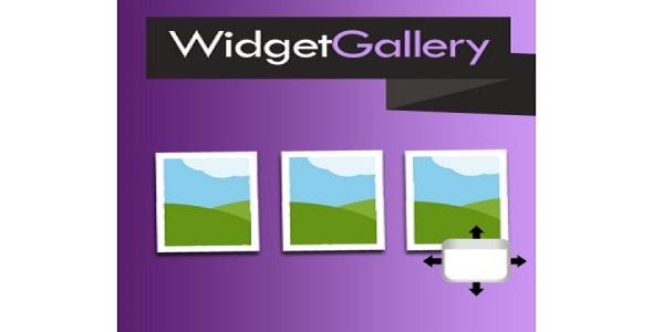 Widgetgallery plugin magento pour galerie