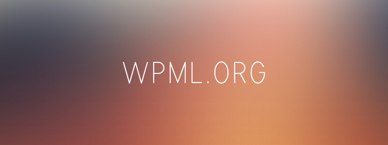 Wpml premium traduction wordpress plugin