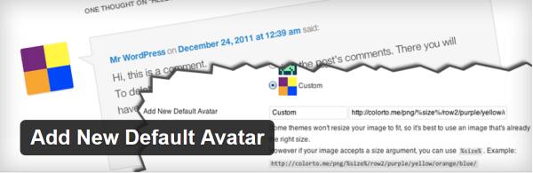 Add new default avatar