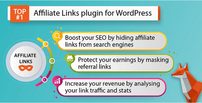Affiliate links plugin wordpress masquer lien affiliation