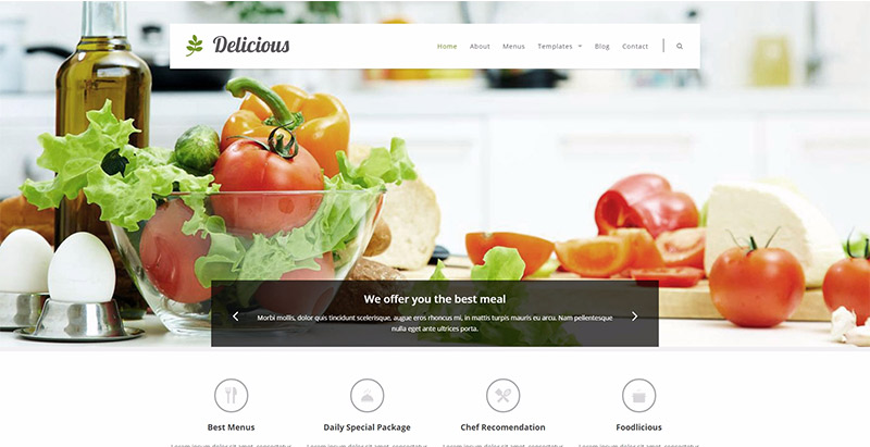 10 WordPress temas para crear un sitio web de restaurante ...