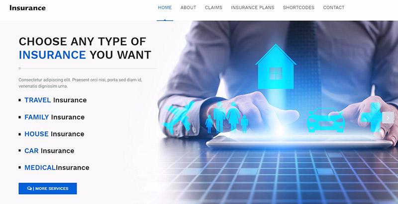 10 Thèmes WordPress Pour Créer Un Site Web De Compagnie D'assurance