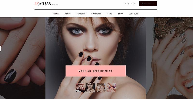 10 thèmes WordPress pour créer un site Web de salon de coiffure ...