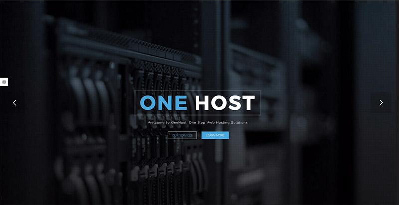 Onehost themes wordpress creer site web entreprise hebergement web