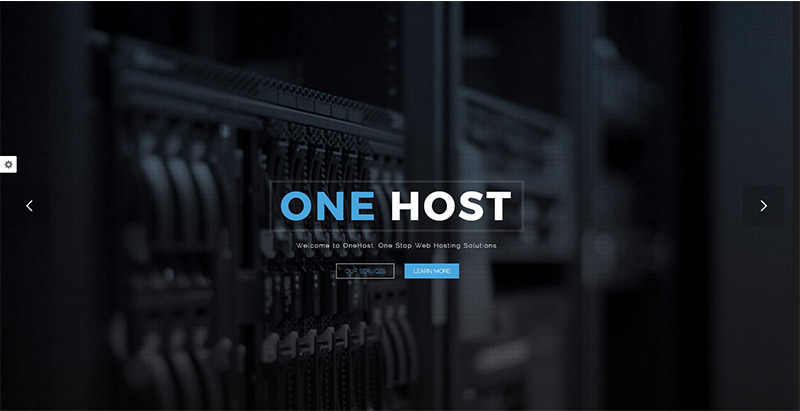 Onehost themes wordpress creer site web entreprise hebergement web