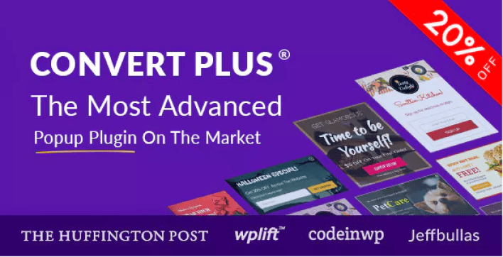 Popup plugin wordpress convertplus