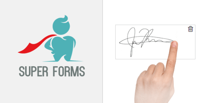 Super forms signature add on