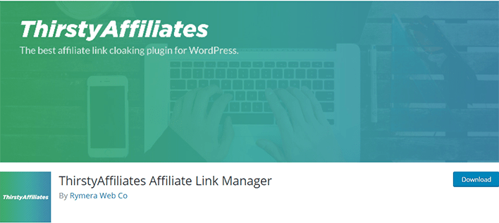 Thirstyaffiliates affiliate link manager plugin wordpress masquer lien affiliation