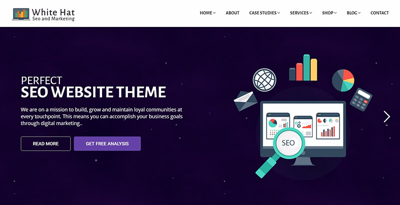 Whitehat themes wordpress creer site web optimise referencement marketing seo