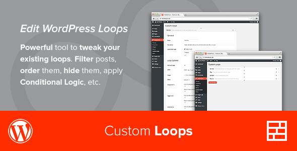 Fresh custom loops plugin wordpress pour tweak