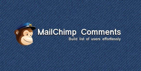 mailchimp comments plugin wordpress pour liste email
