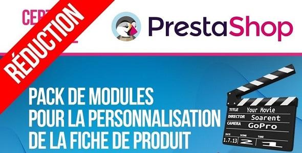Modules for customising and extending product page plugin prestashop pour fiche produit