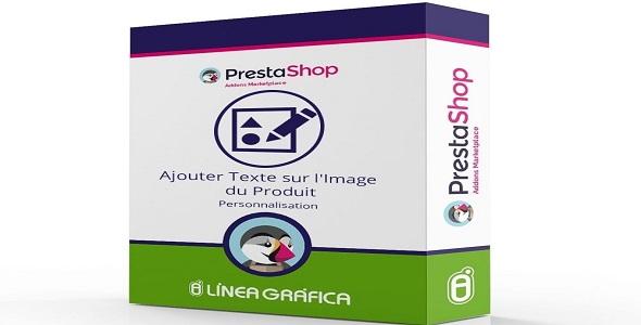 Product customization add text over the product image plugin prestashop pour personnalisation produit