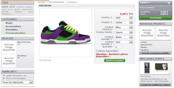 Product customization plugin prestashop pour personnalisation produit