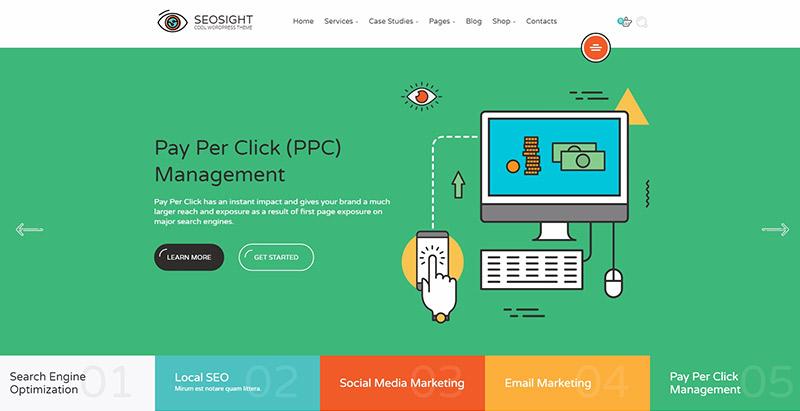 10 WordPress temas para crear un sitio web optimizado para SEO ...