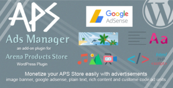 Aps ads manager wordpress plugin by anjum