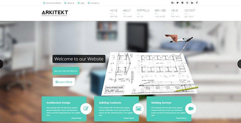 10 Temas de WordPress para crear un sitio web para estudio de ...