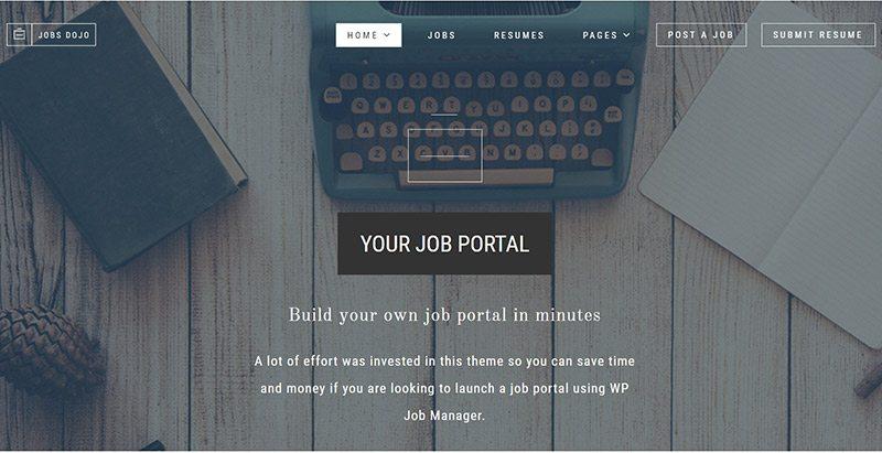 9 Temas de WordPress para crear un sitio web de trabajar | BlogPasCher