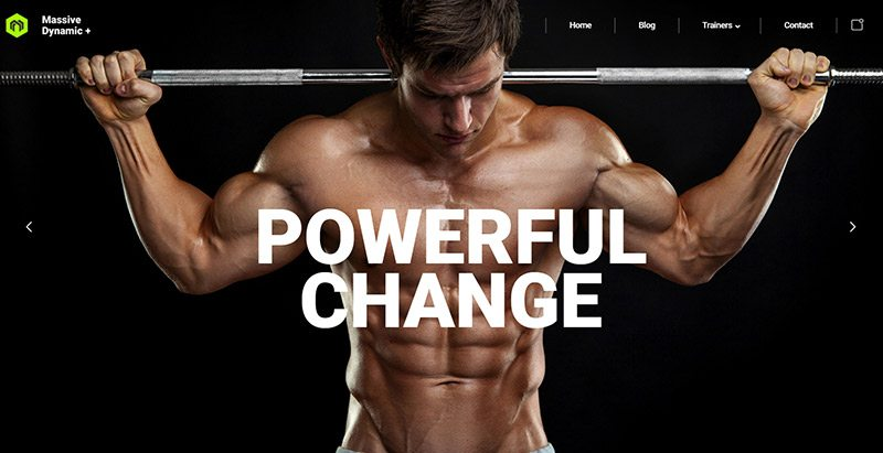 Massivedynamic themes wordpress creer site web club gym fitness arts martiaux