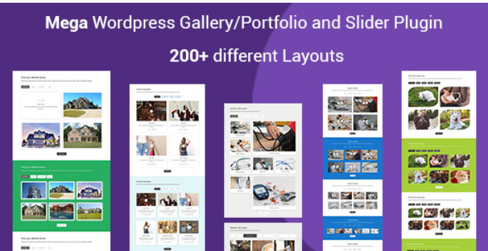 Mega portfolio filterable portfolio gallery responsive wordpress plugin