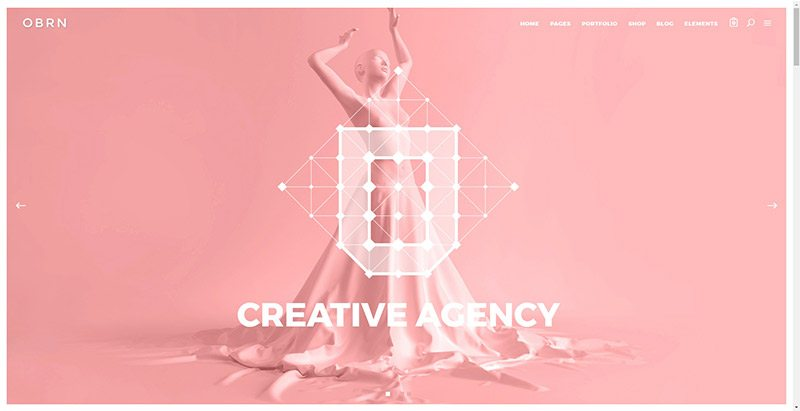 Oberon themes wordpress creer site web portfolio freelances photographes