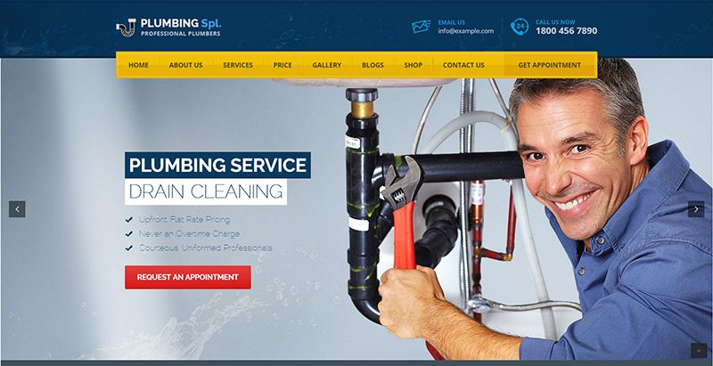 Plumbing-spl-themes-wordpress-creer-site-web-plombier-plomberie ...