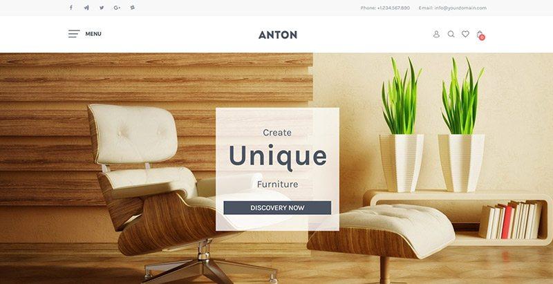 Thèmes wordpress pour créer un site web de vente de meubles