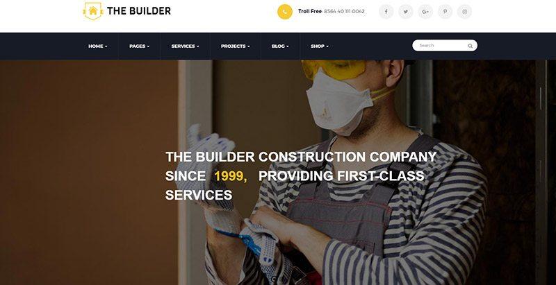 10 temas de WordPress para el sector de la construcción   BlogPasCher