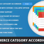 meilleurs plugins WordPress premium - Woocommerce category accordion