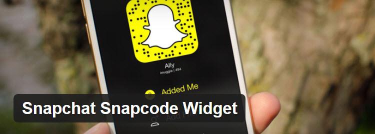 Ajouter des codes snapchat a wordpress