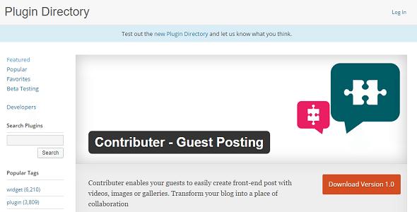 plugins de WordPress 8 permiten a los usuarios publicar contenido ...