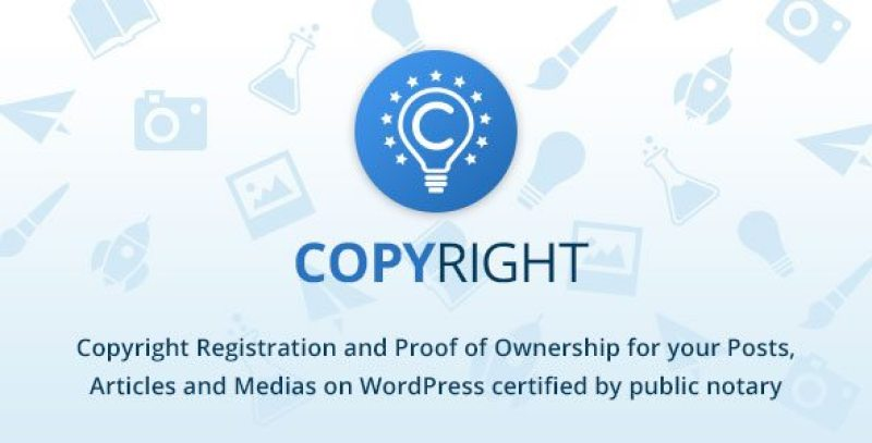 Copyright office personnaliser le Copyright