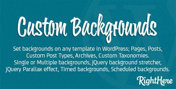 10 plugins de WordPress para crear fondos personalizados | BlogPasCher