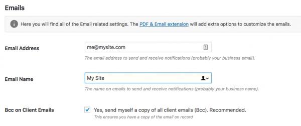 Cài đặt email hóa đơn cắt lát