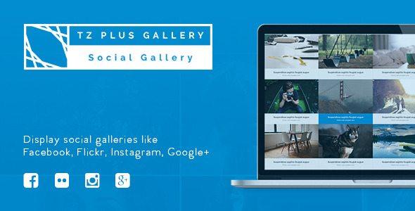tz-plus-gallery-plugin-wordpress-for-flickr-gallery | BlogPasCher
