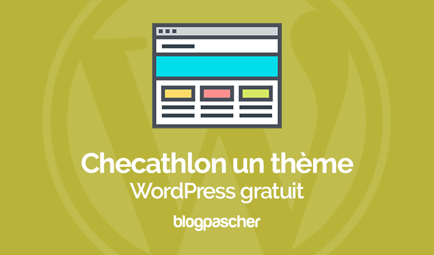 Checathlon Thème Wordpress