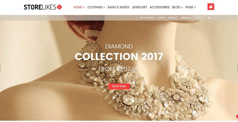 Storelike shop themes wordpress creer boutique ligne site ecommerce marketplace
