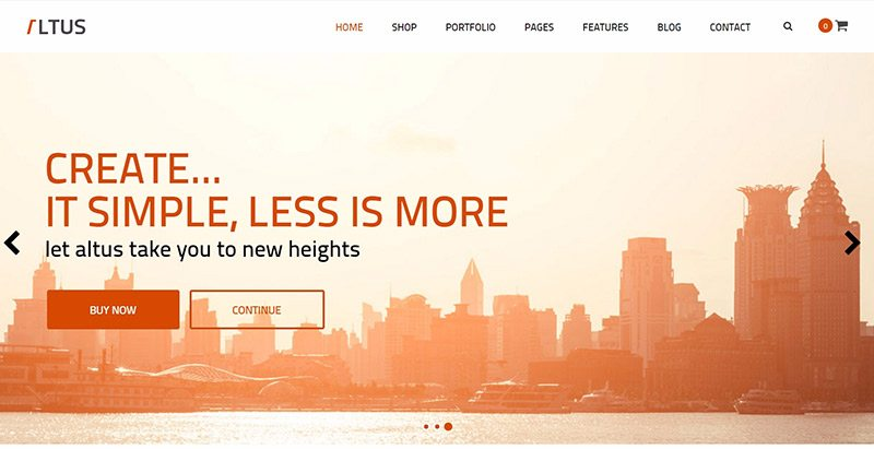 10 Wordpress-Themes eine Business-Website erstellen | BlogPasCher