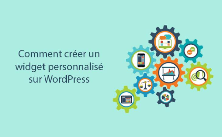 Créer un widget personnalisé sur wordpress