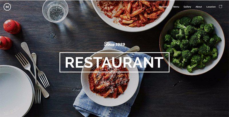 massive dynamic themes wordpress creer site web restaurant cafe pub traiteur