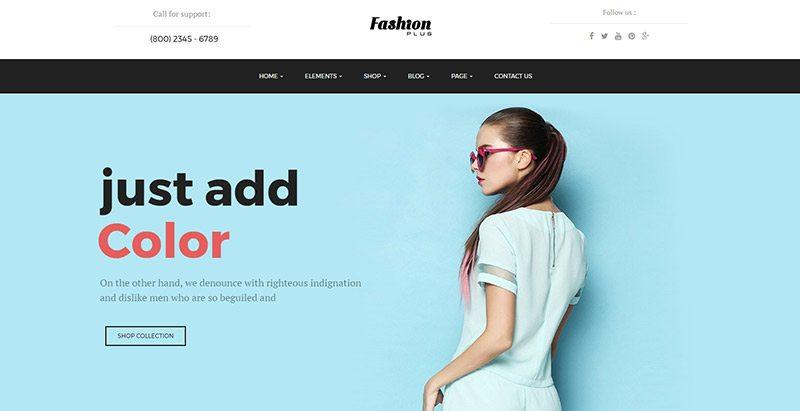 site web de mode