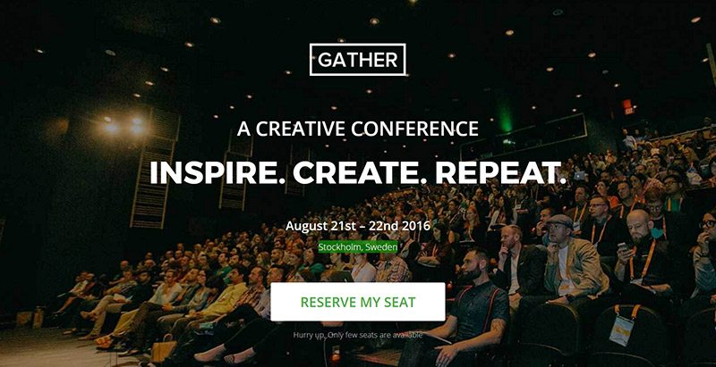 20 Temas de WordPress para crear un sitio web del evento | BlogPasCher