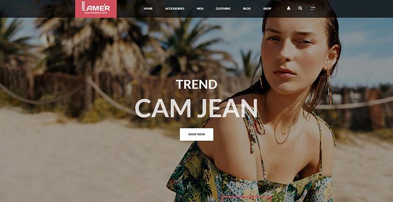 Lamers themes wordpress creer site web ecommerce boutique en ligne magasin en ligne vendre acheter internet