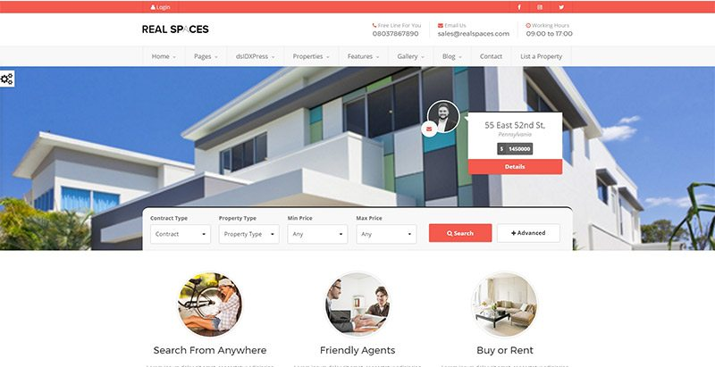 10 temas de WordPress para el sitio web agencia inmobiliaria ...