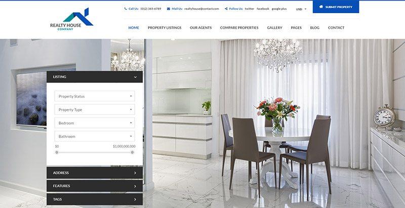 10 thèmes WordPress pour créer un site Web d'agence immobilière