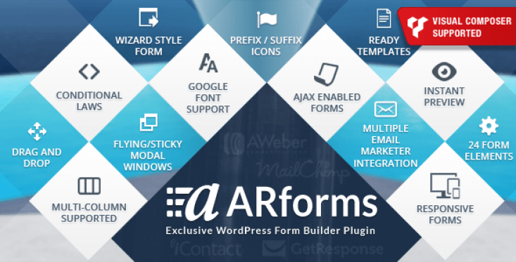 Arforms plugin wordpress pour formulaires