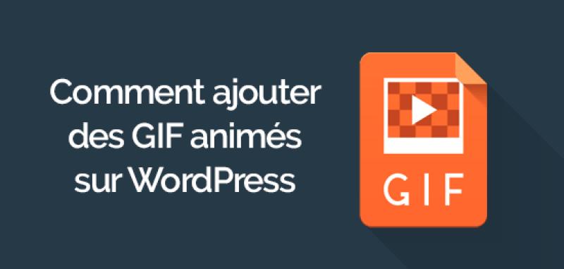 Comment ajouter des gif animés sur wordpress 1 e1565163903841