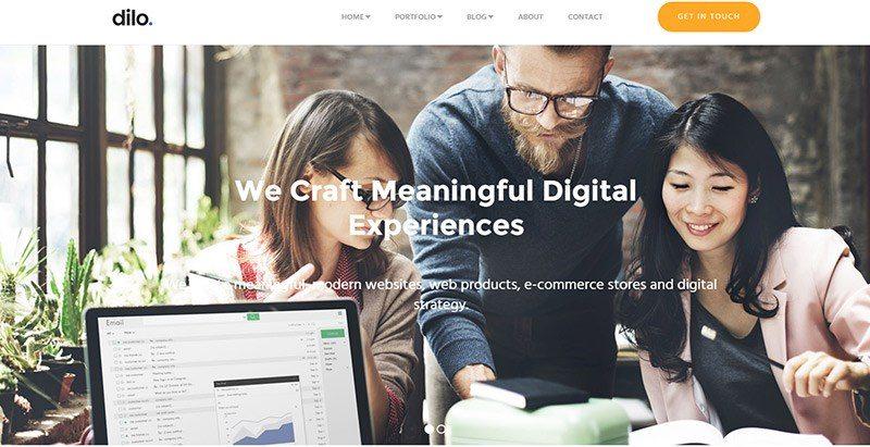 20 Temas de WordPress para crear un sitio web independiente ...