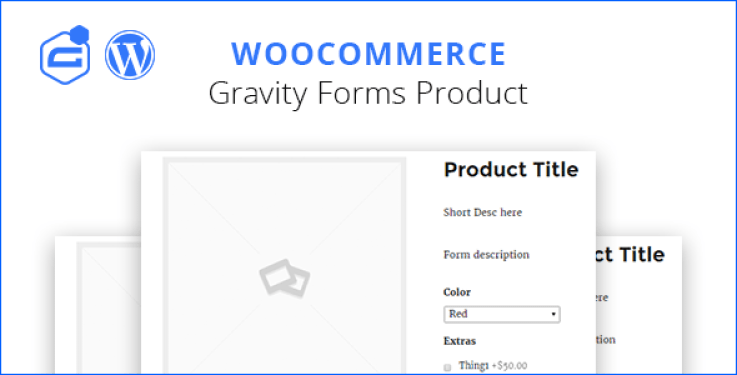 Woocommerce gravity forms product plugin wordpress pour formulaires